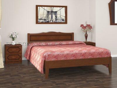 Кровать «Карина-7» орех