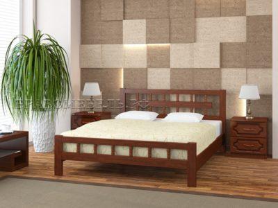 Кровать «Натали-5» орех
