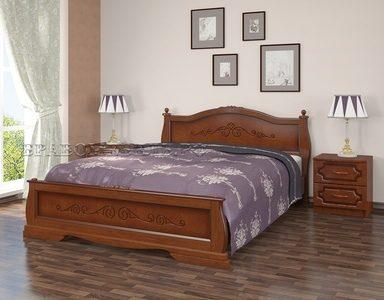Кровать «Карина-2» орех