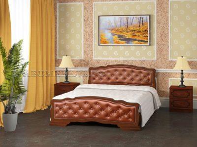 Кровать «Карина-10» орех