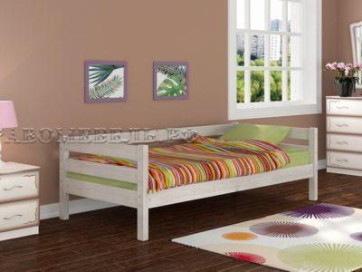 Кровать «Глория» дуб белый