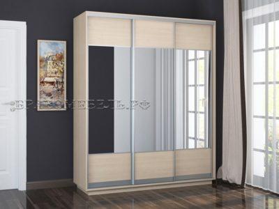 Шкаф «Честер 1800» (3 зеркала с рисунком)