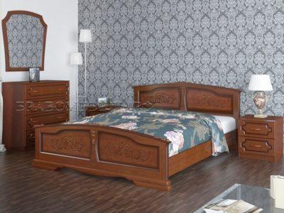 Кровать «Елена» орех