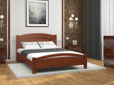 Кровать «Камелия-3» вишня