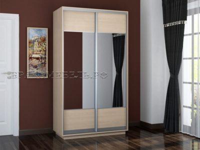 Шкаф «Честер 1200» (2 зеркала)