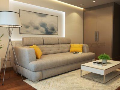 Прямой диван «Леон А»