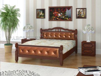 Кровать «Карина-11» орех