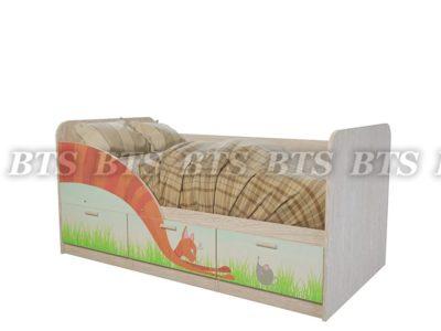 Кровать детская «Минима Сказка»
