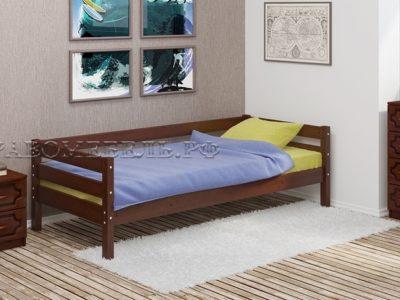 Кровать «Глория» орех