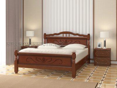 Кровать «Карина-5» орех