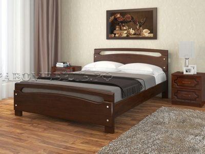 Кровать «Камелия-2» дуб коньяк