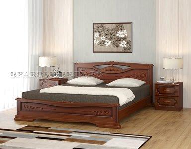 Кровать «Елена-3» орех