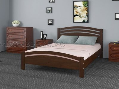 Кровать «Камелия-3» дуб коньяк