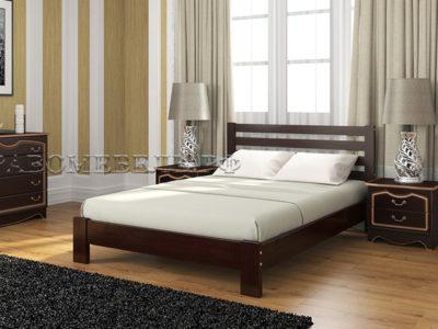 Кровать «Вероника-1» орех темный