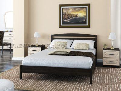 Кровать «Камелия-1» венге