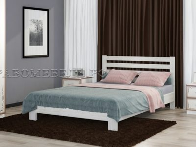 Кровать «Вероника» дуб белый