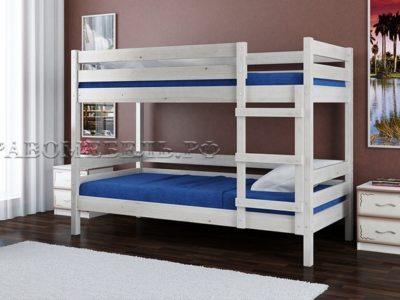 Кровать «Джуниор» дуб белый