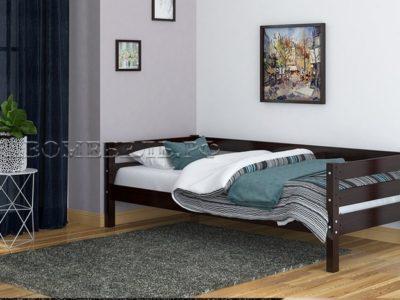 Кровать «Глория» орех тёмный