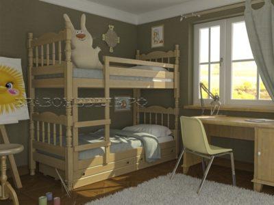 Кровать «Соня» сосна
