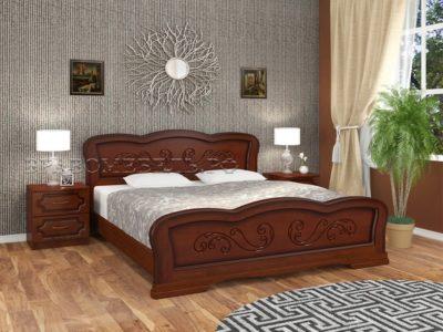 Кровать «Карина-8 » орех