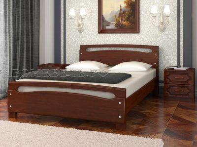 Кровать «Камелия-2» орех