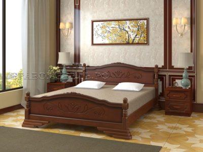Кровать «Карина-3» орех