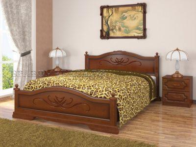 Кровать «Карина» орех