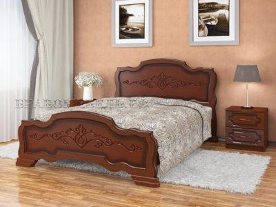 Кровать «Карина-17» орех